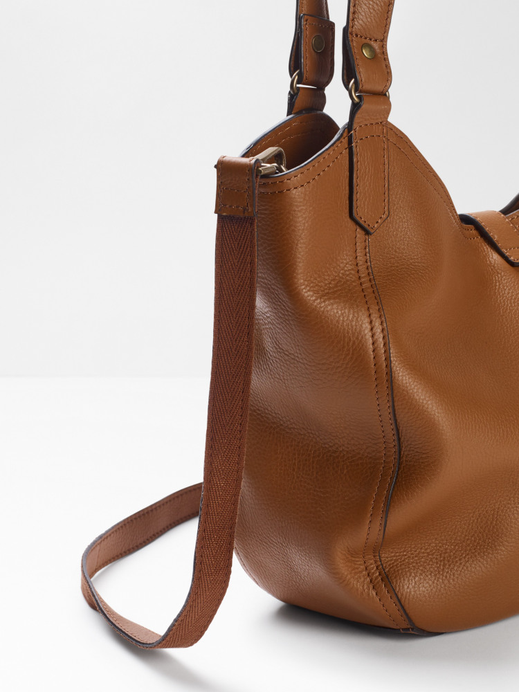 Bonnie Leather Hobo