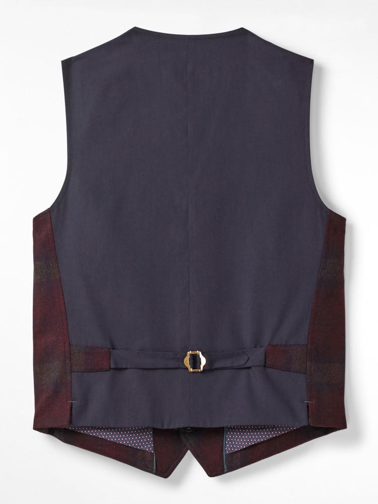 Hawkbridge Check Waistcoat