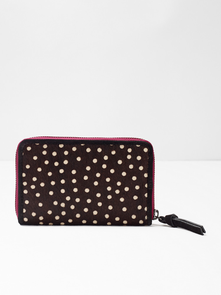 Lana Spot Leather Purse