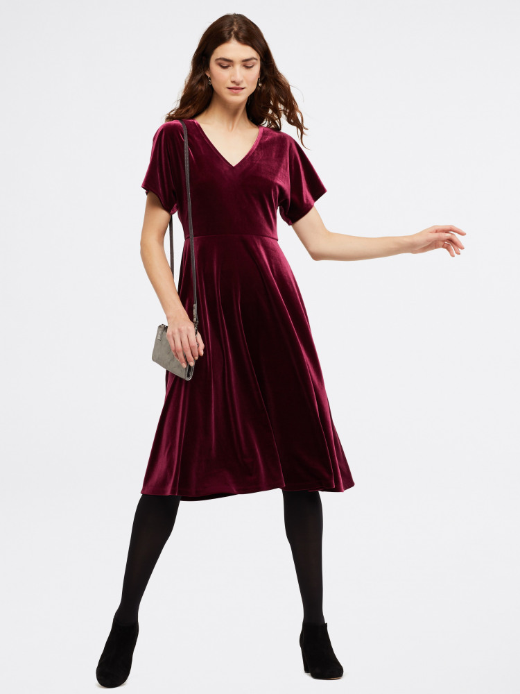 Melody Velvet Jersey Dress