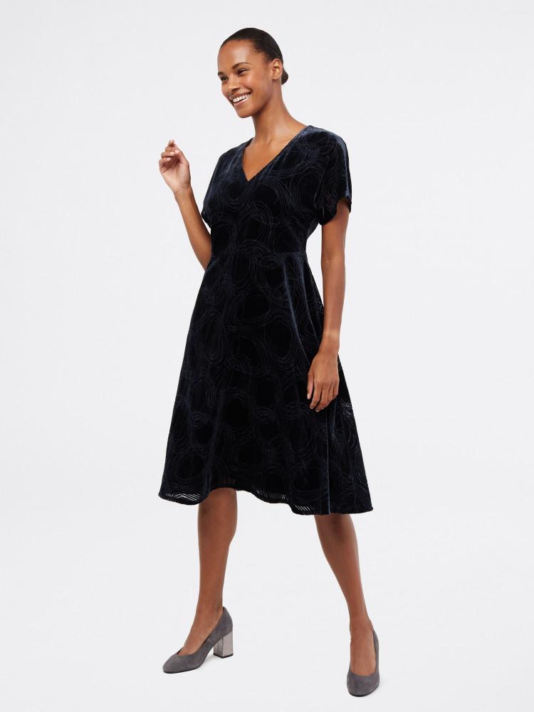 Melody Devore Velvet Dress