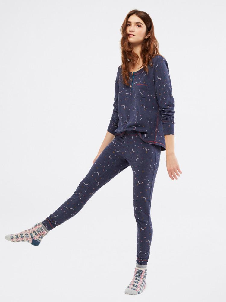 Starry Night Jersey PJ Bottom