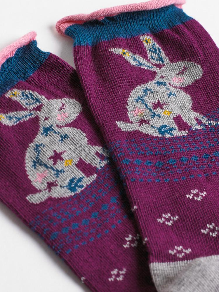 Nara Bunny Sock
