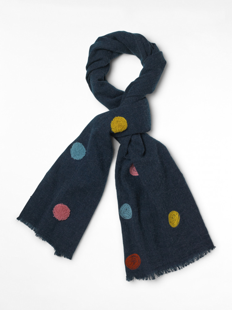 Harbour Tufty Spot Scarf