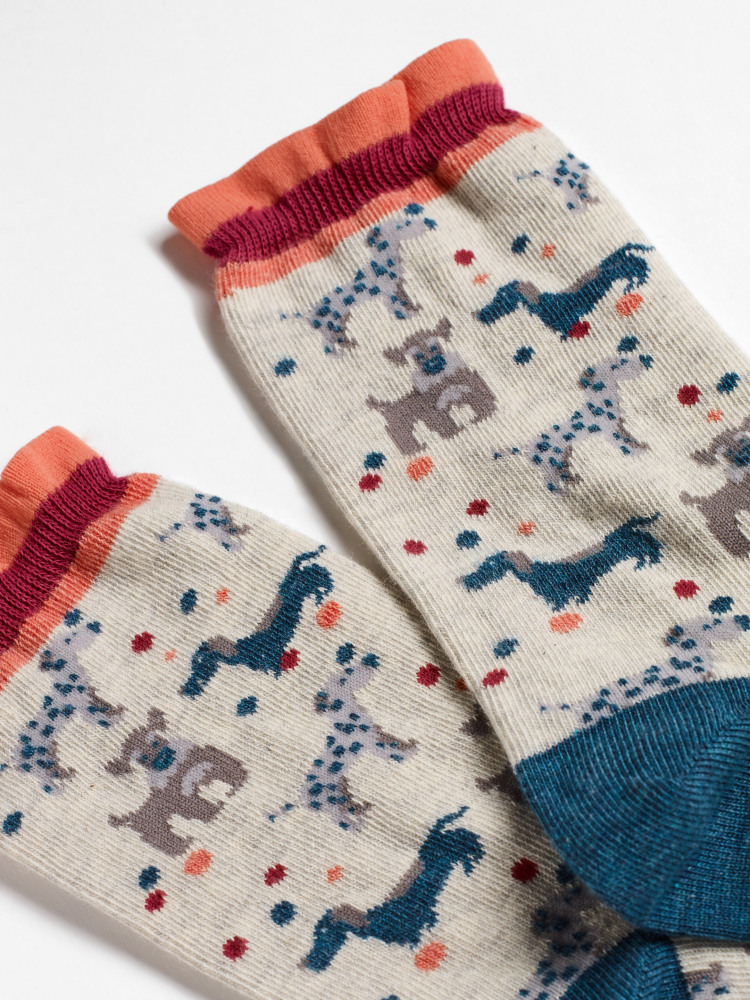 Daisy Dog Sock