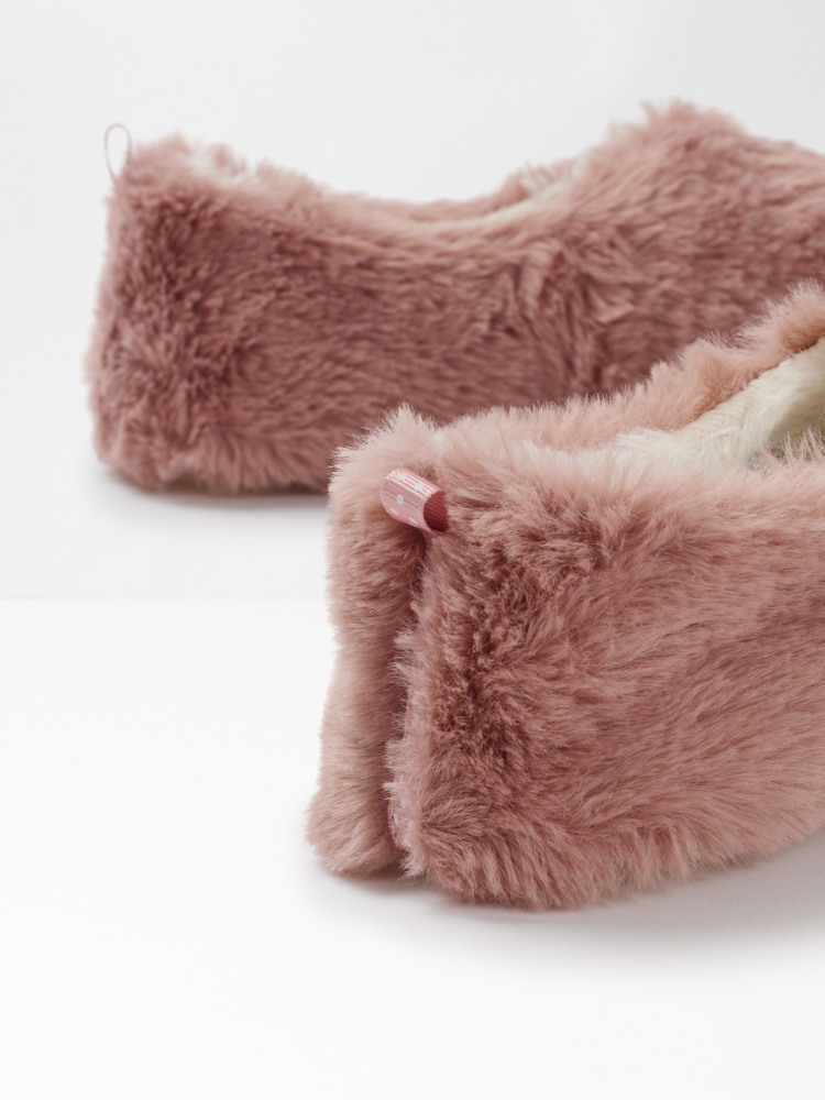 Faux Fur Slipper