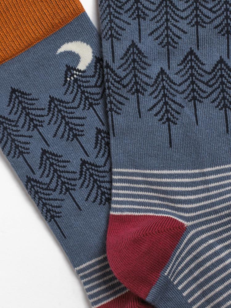 Woodland Trees Sock