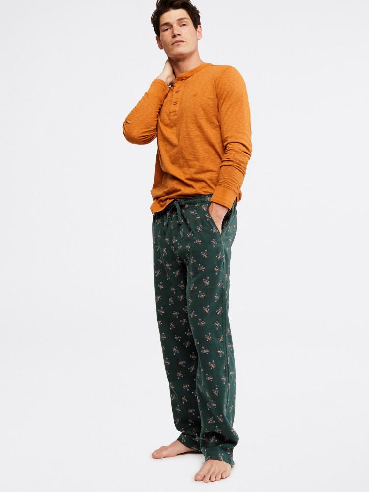 Thame Fox Flannel Print