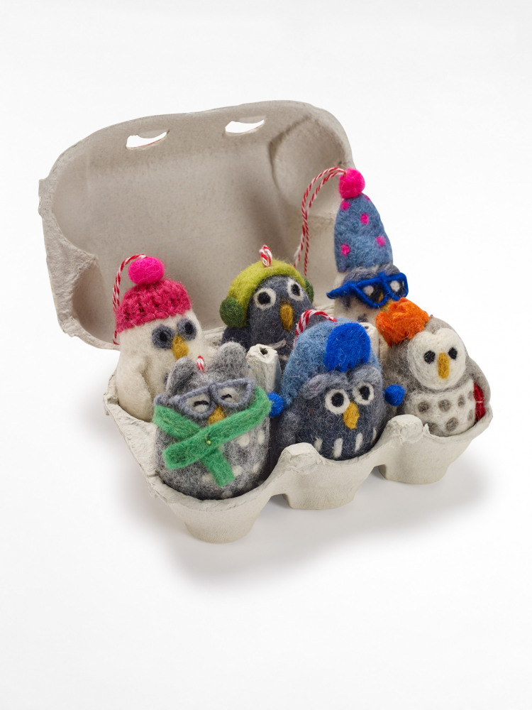 Wise Old Owls Egg Box