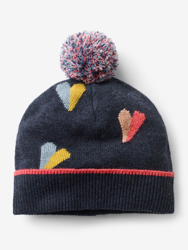Paper Hearts Pom Hat