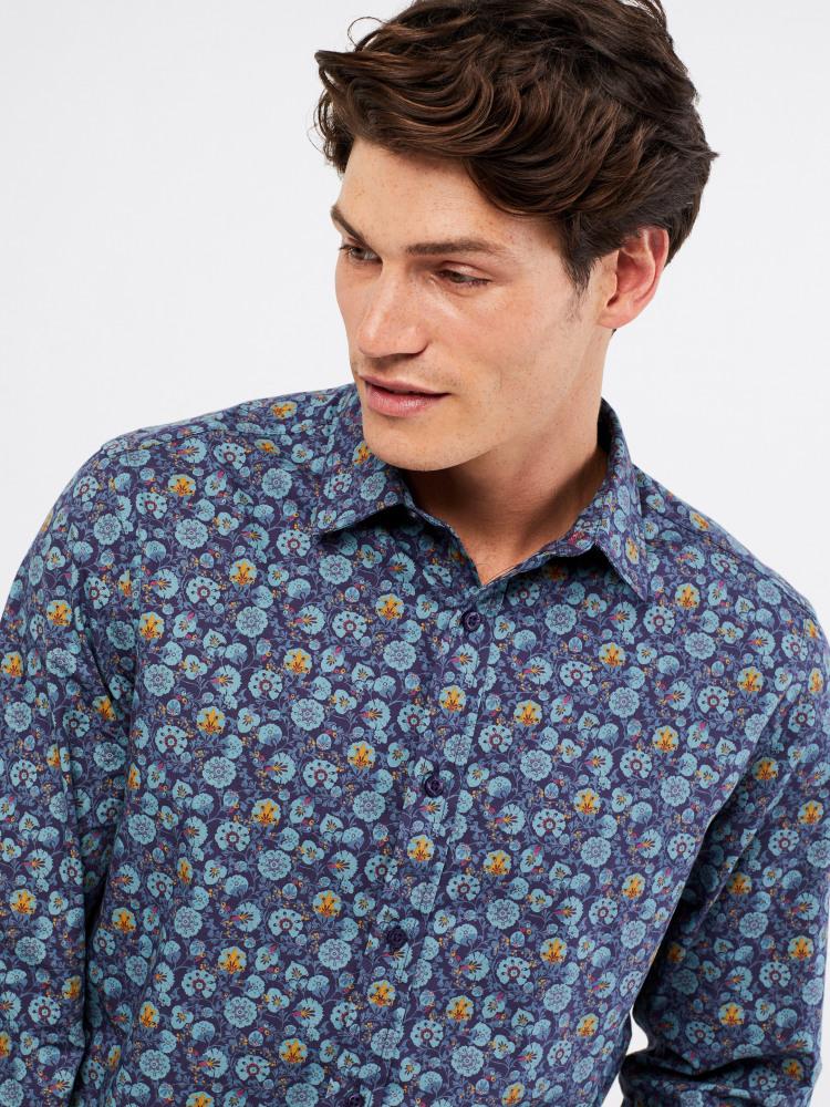 Swineshore Paisley Print Shirt