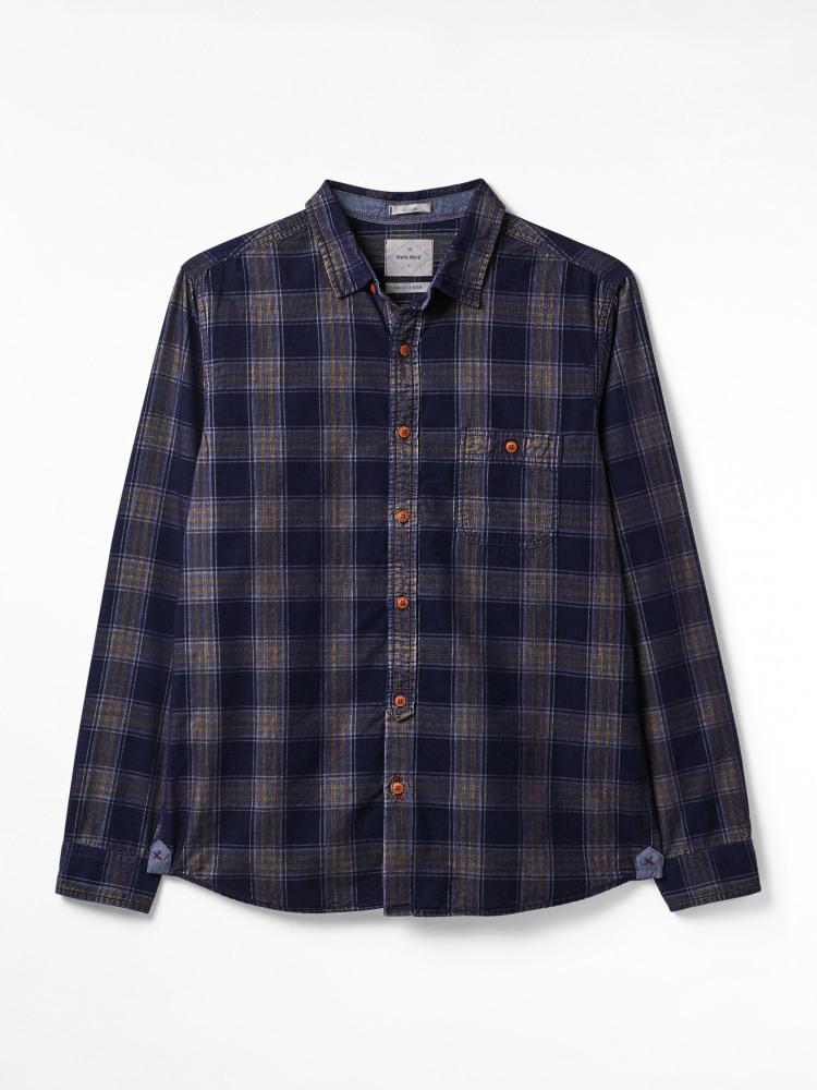 Bowmere Check Cord Shirt