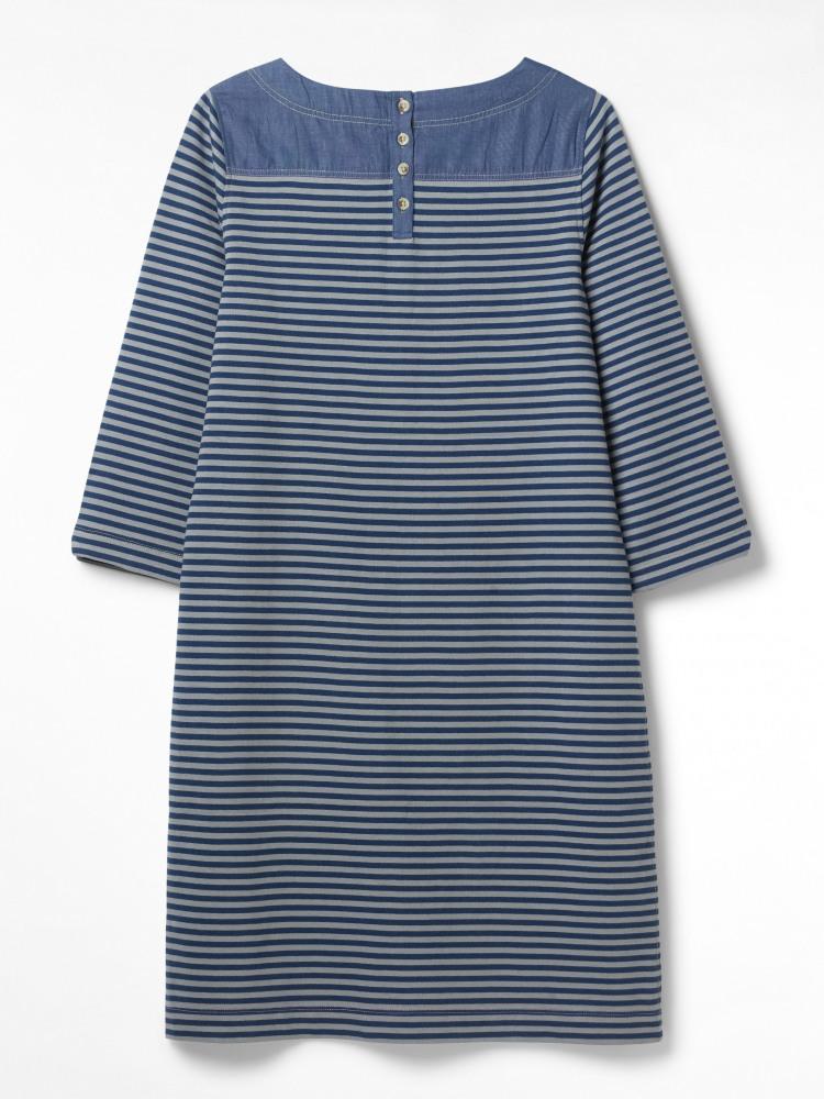Albie Stripe Jersey Dress