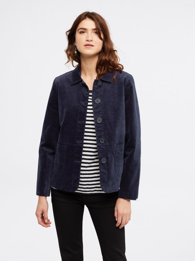 Devin Velvet Worker Jacket