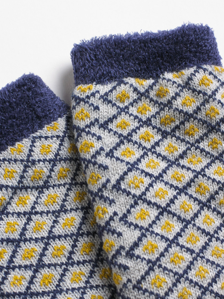 Scandi Cabin Sock