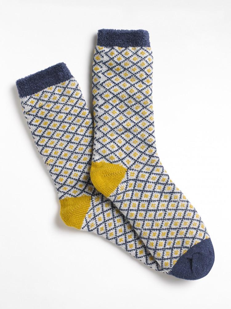Scandi Cabin Sock