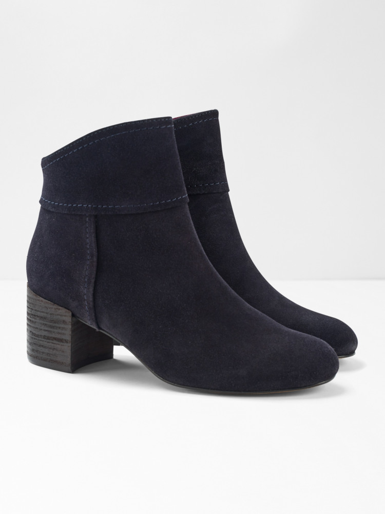 Bree Block Heel Ankle Boot