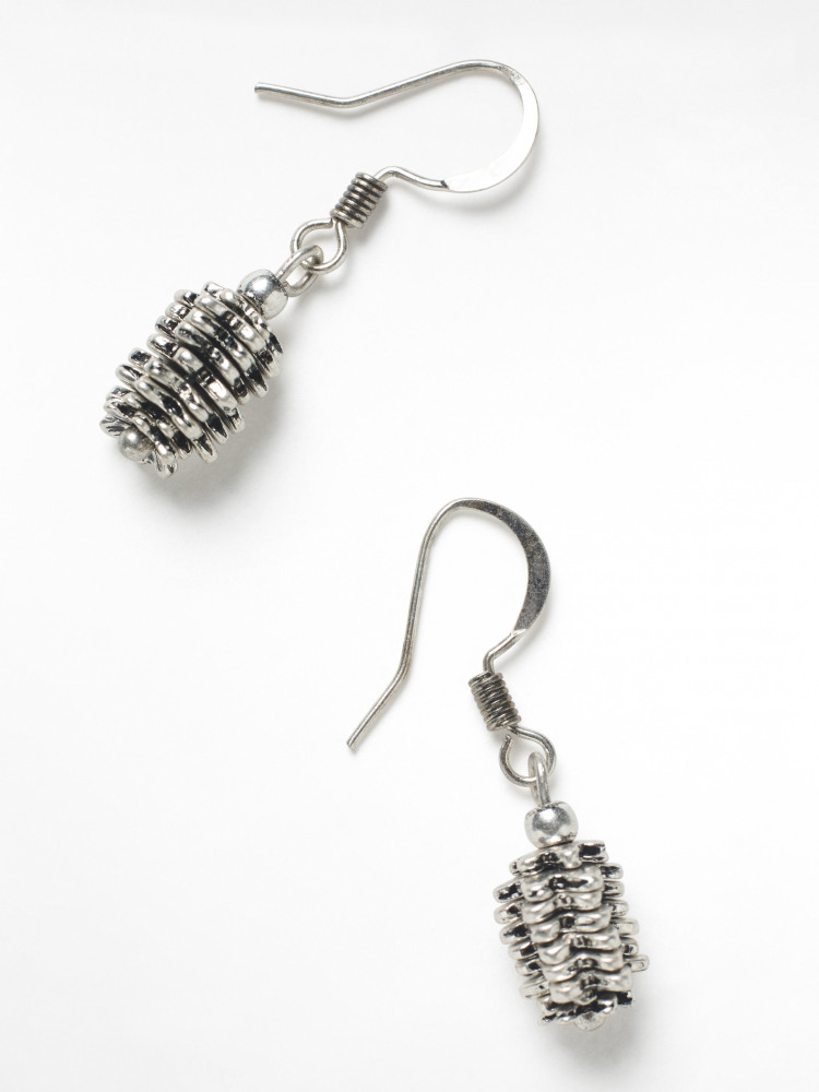 Pinecone Earrings
