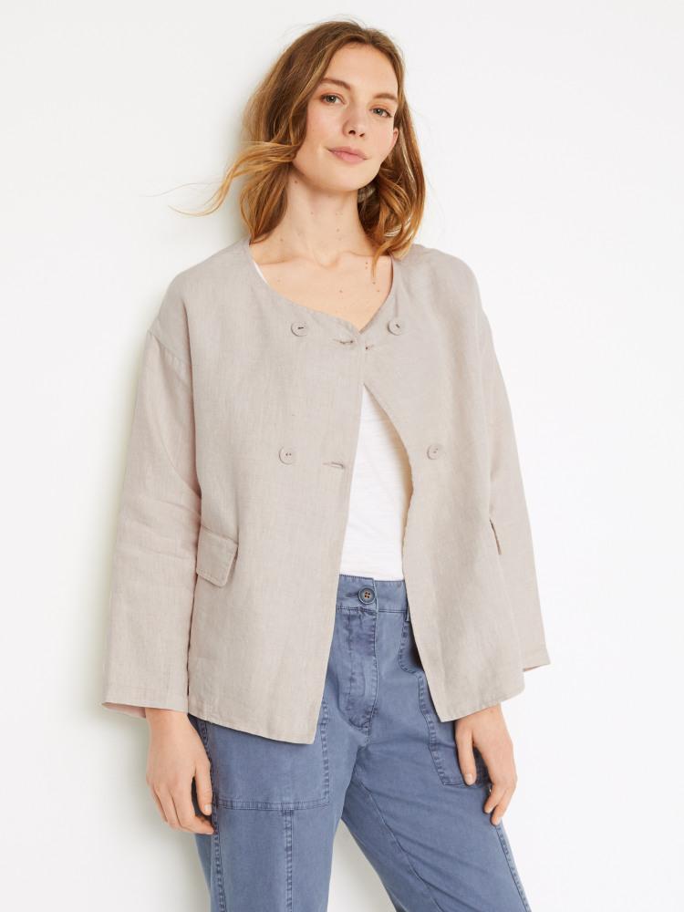 Jessica Linen Jacket