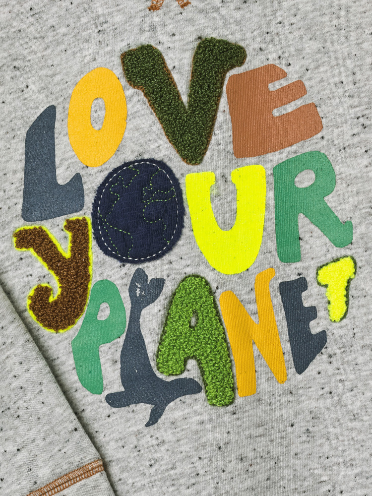 Love Your Planet Jersey Sweat