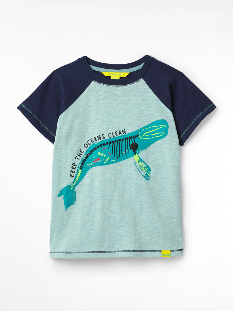 Sea Creatures Organic Jersey Tee