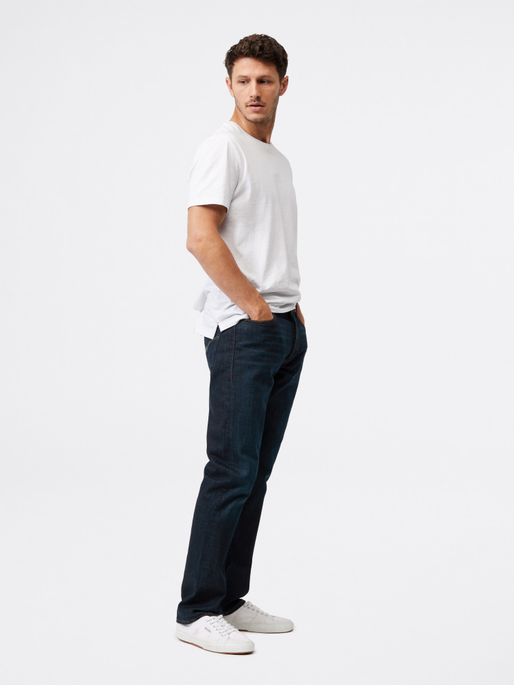 Davis Straight Button Fly Jean