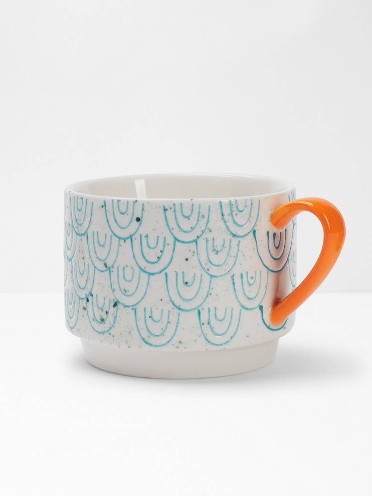Scallop Stacking Mug