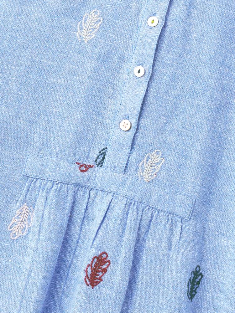 Handloom Linen Top