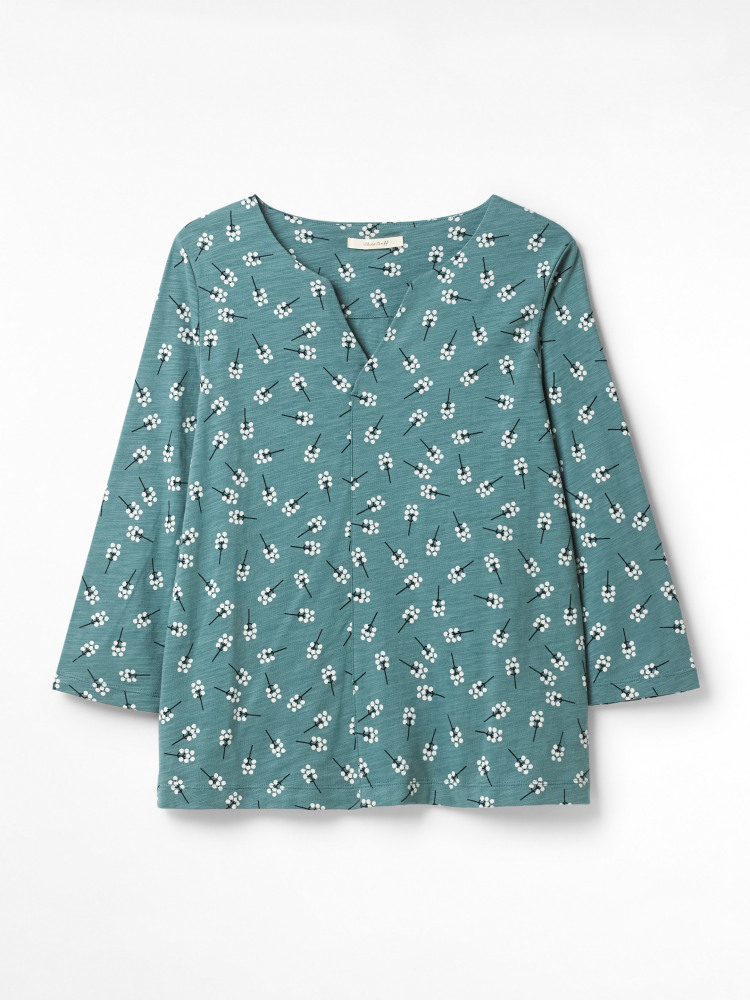 Nilly Print Jersey Top