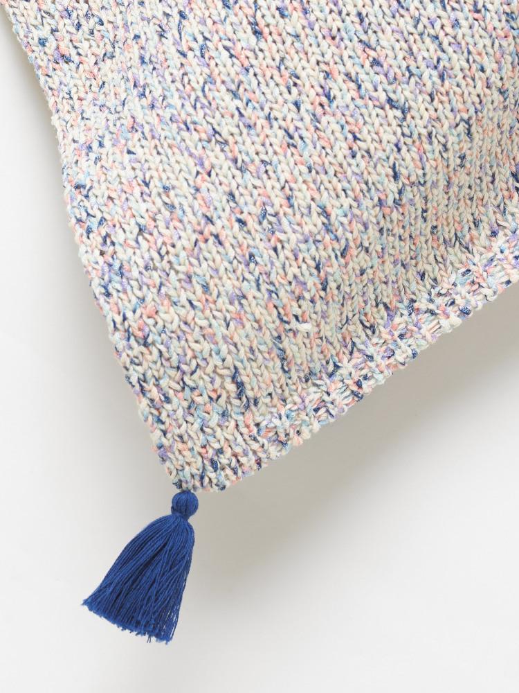 Tape Yarn Poncho