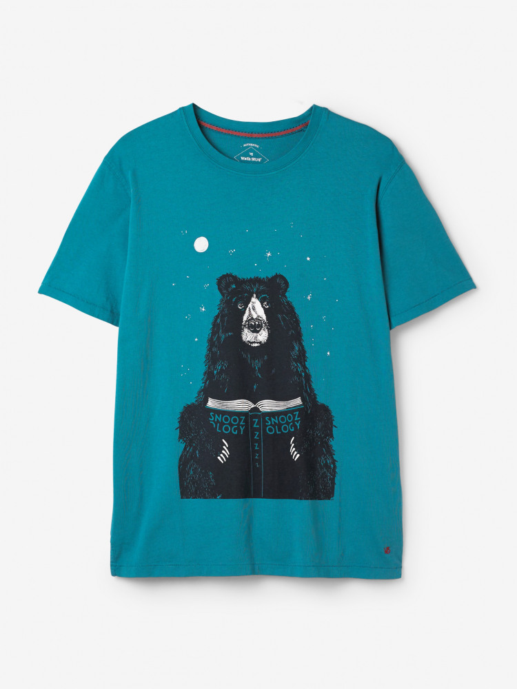 Snooze Bear Graphic Tee