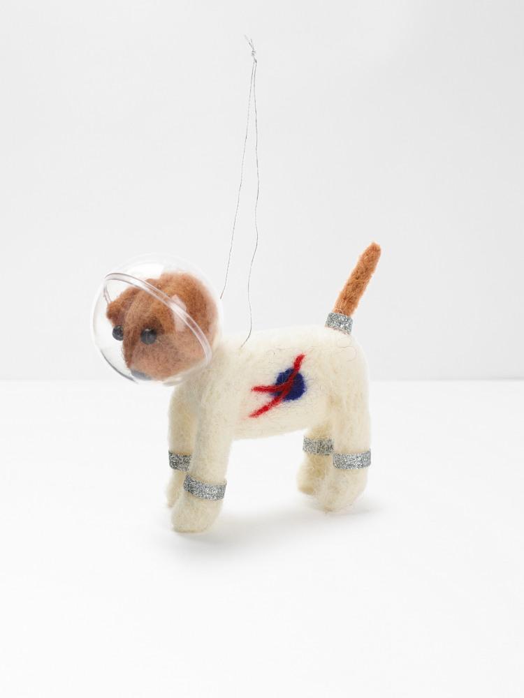Felt Spacedog Hanging Dec