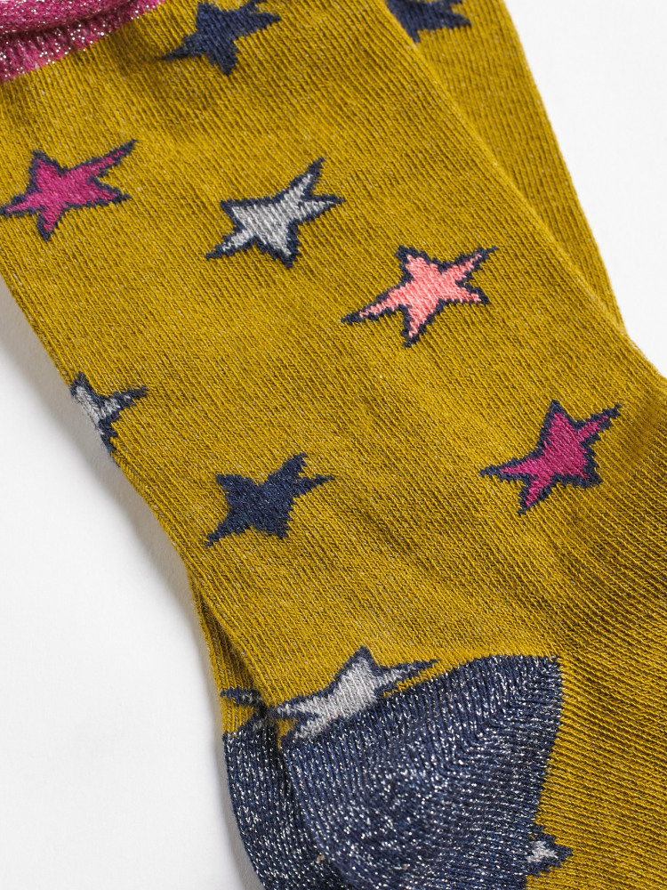 Sparkly Star Sock
