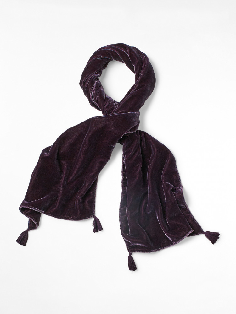 Double Sided Velvet  Scarf