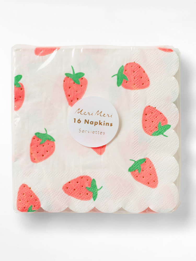 Strawberry Napkins