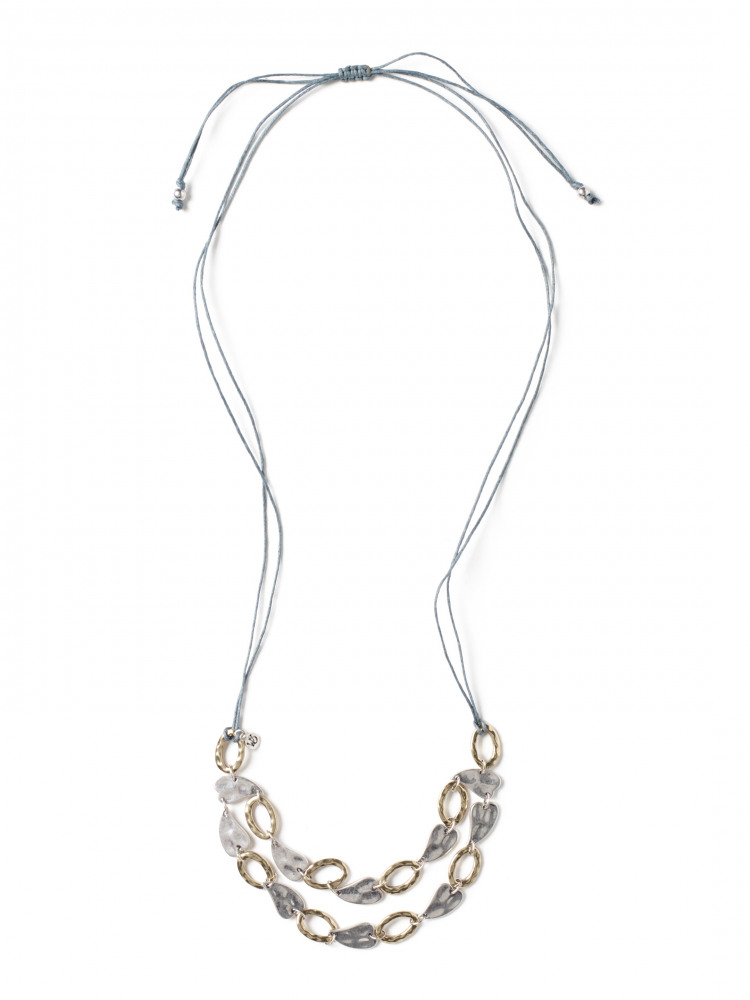Layered Heart & Hoop Necklace