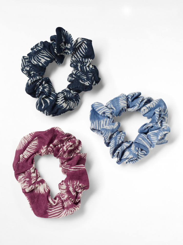 Cotton Offcut Scrunchie 3 pack