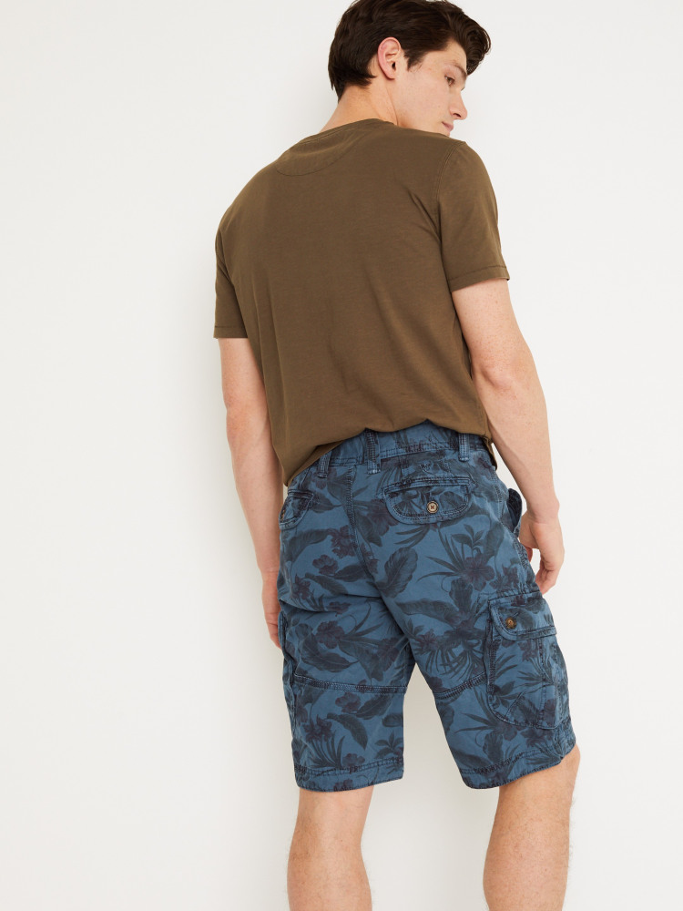 Harbour Printed Cargo Short
