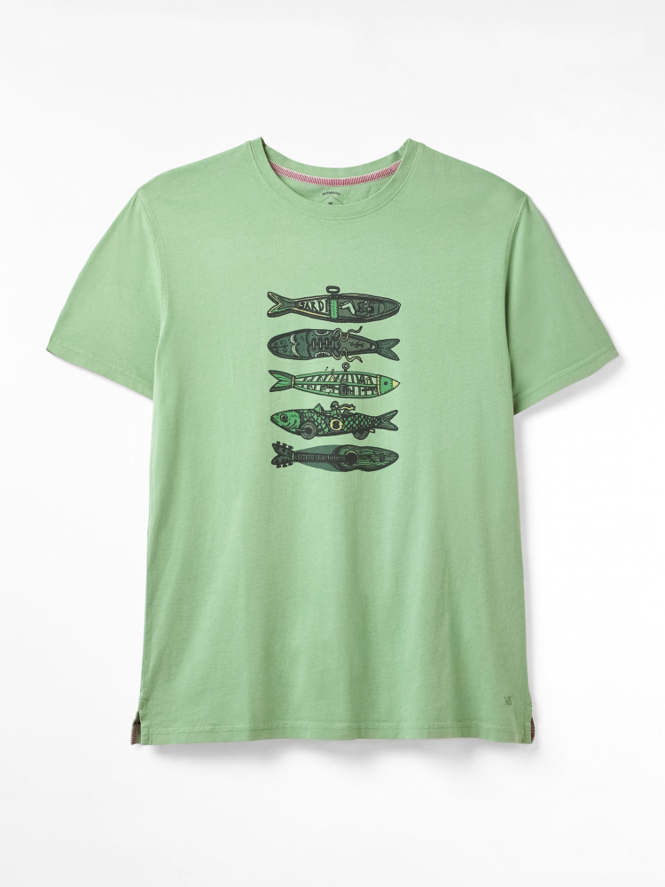 Fish Graphic Organic Tee