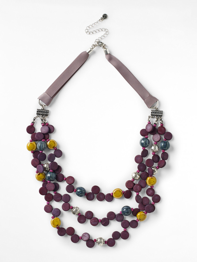 Mono Ceramic Layered Necklace