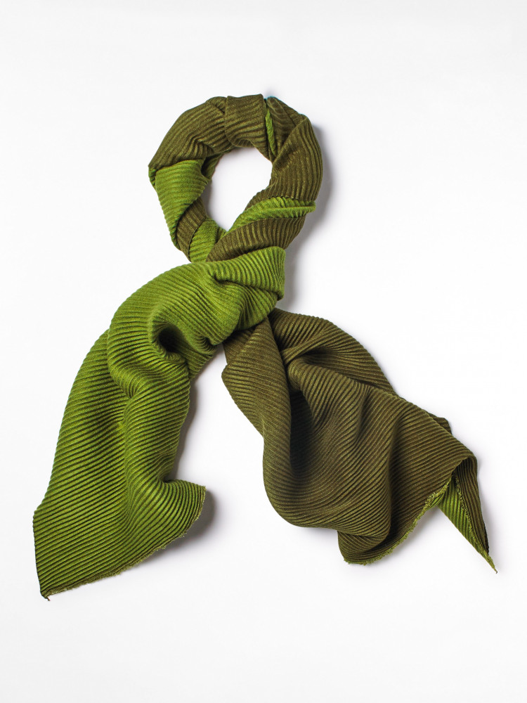 Pleat Midweight Scarf