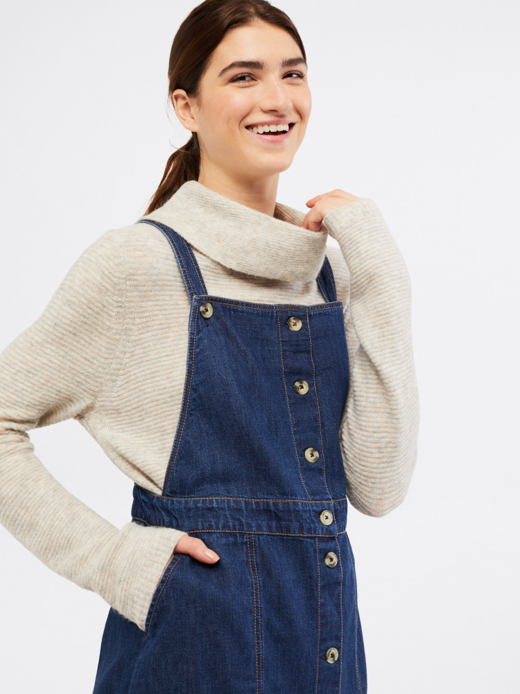 Sara Denim Pinny
