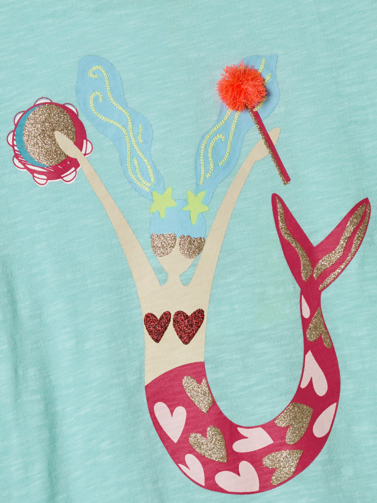 Musical Mermaid Jersey Tee