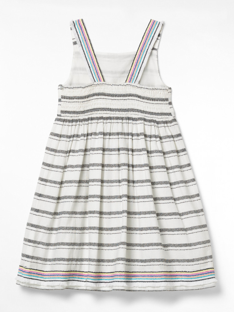 Stripey Summer Woven Dress