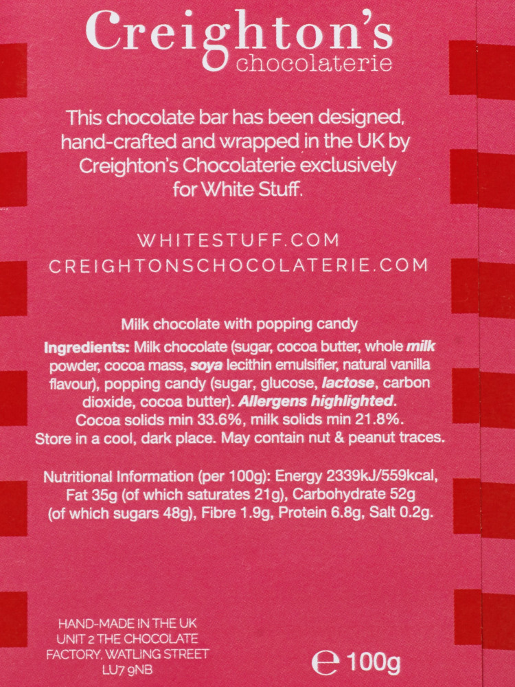 Beyond Splendiferous Choc Bar