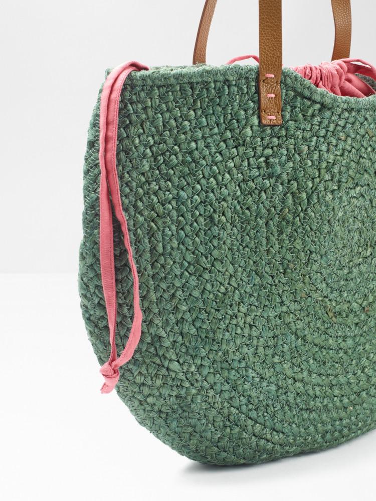 Amal Half Moon Jute Bag