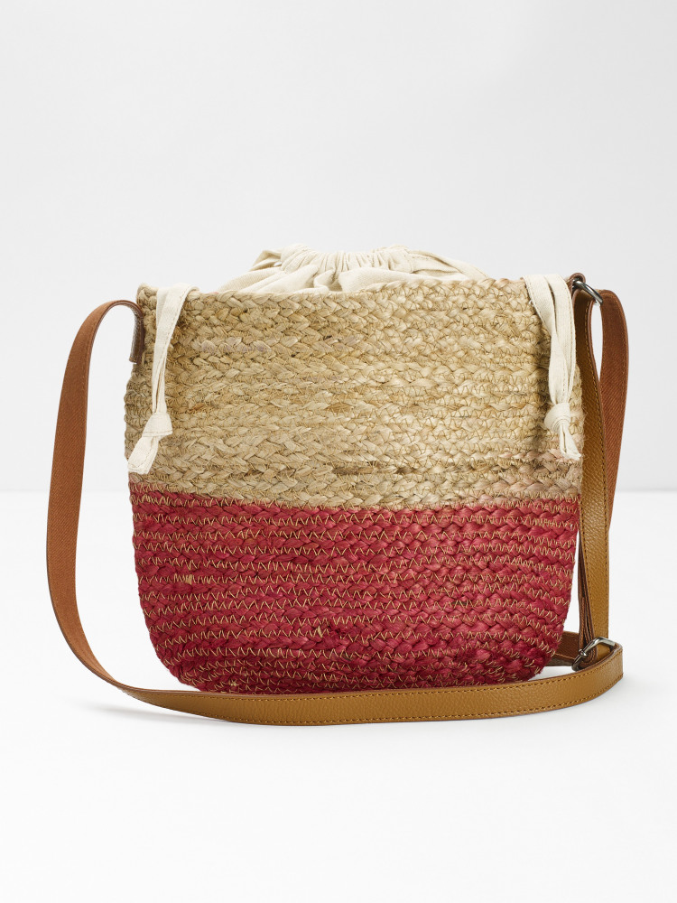 Amal Jute Bucket Bag