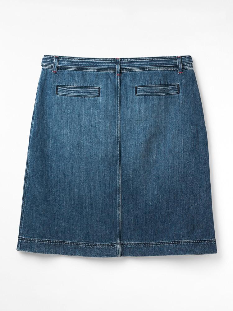 Jasmine Denim Skirt