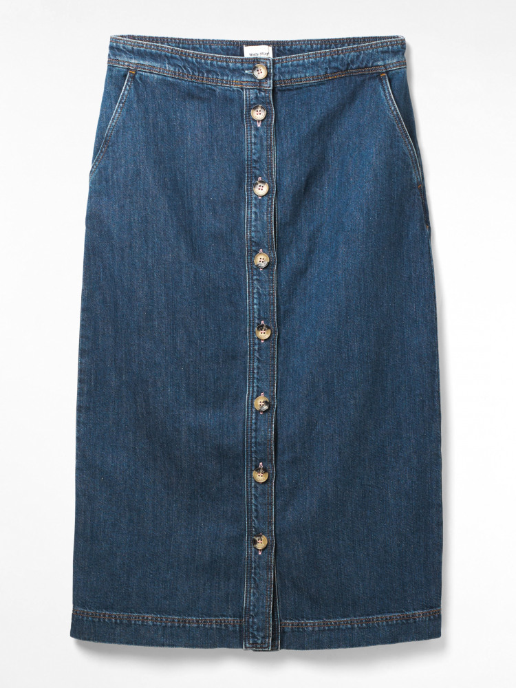 Daisy Chain Denim Skirt