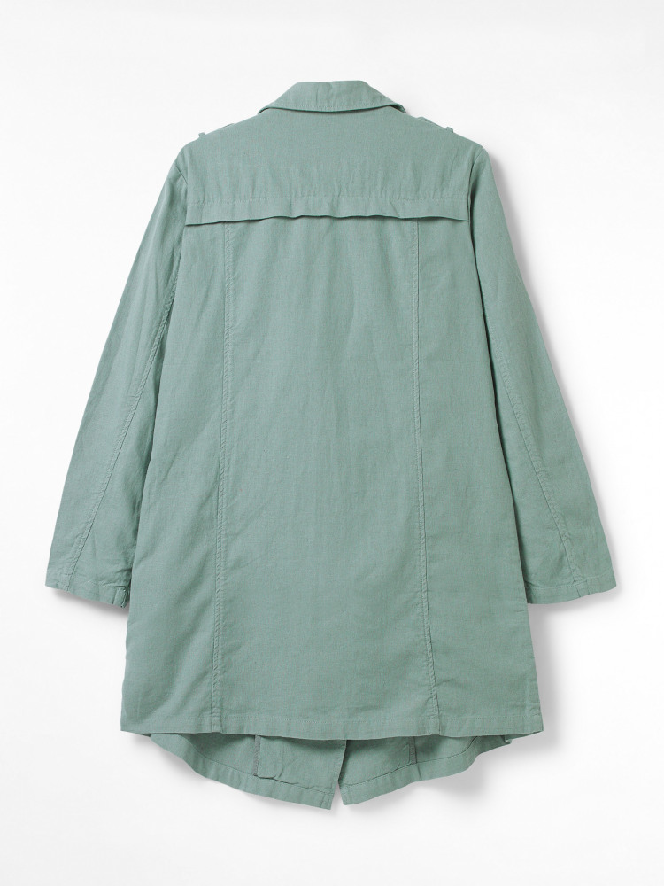 Dolly Linen Duster Jacket